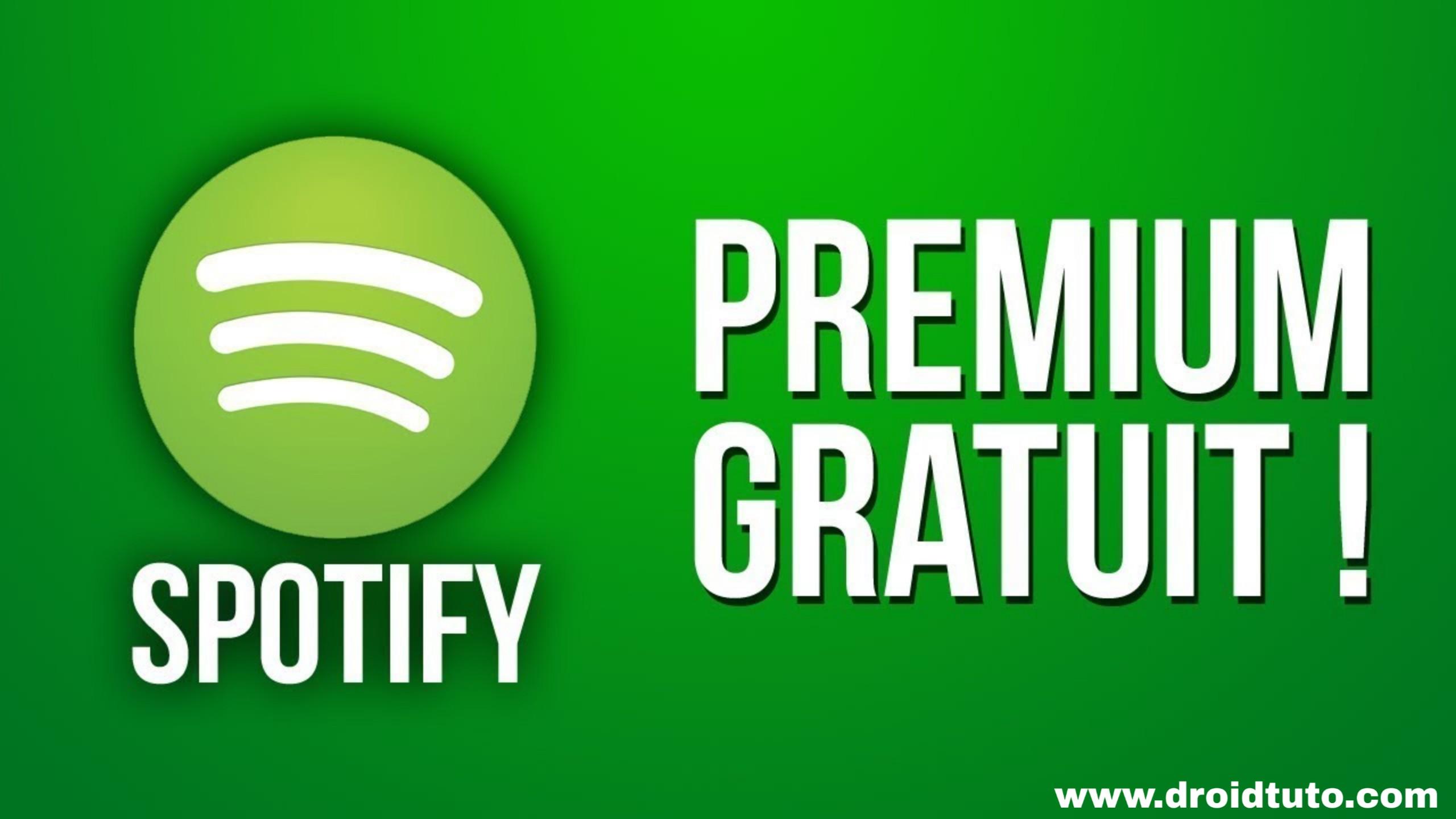 spotify premium gratuit